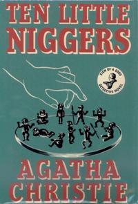 Portada de Diez negritos, de Agatha Christie