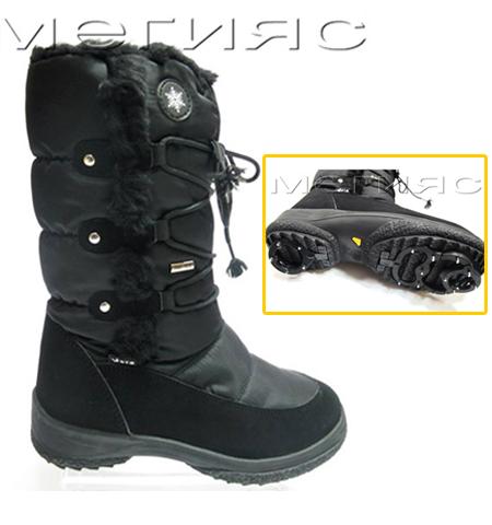 Зимни обувки със система против пързаляне