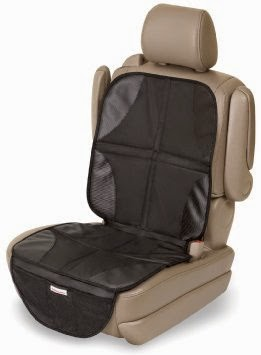 the protector is padded slightly so if it is used without a car seat it is comfortable to sit on and it offers extra protection to your seats with a car