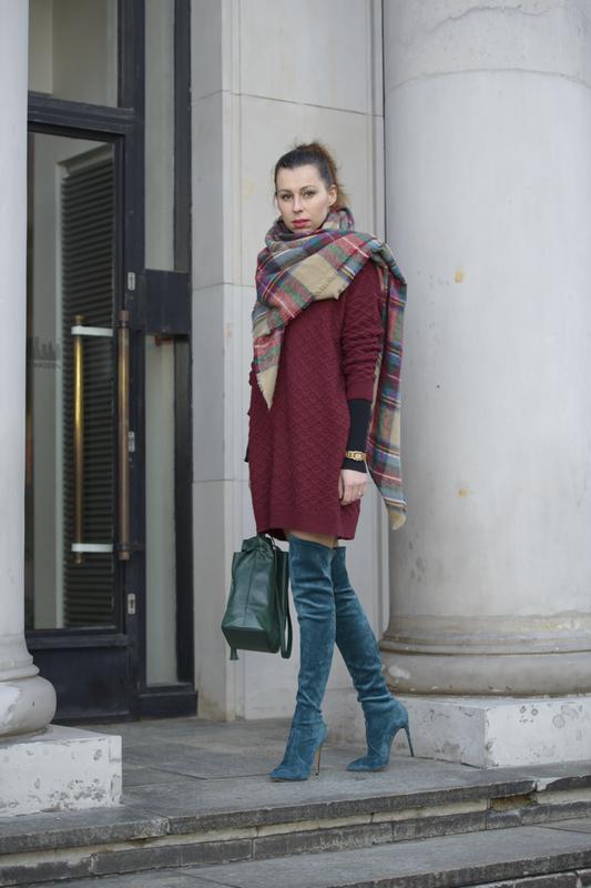 overknee boots street fashion