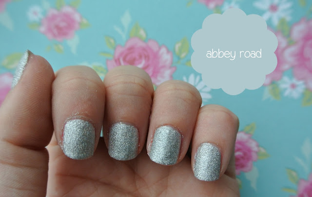 nails inc abbey road swatch