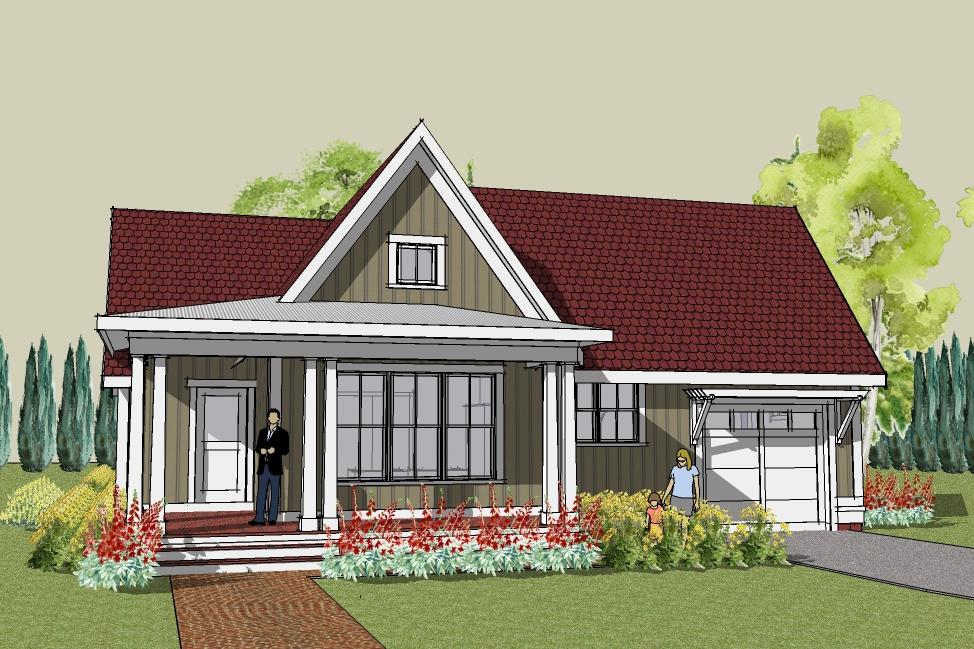 for Elegant simple 3 bedroom house plans