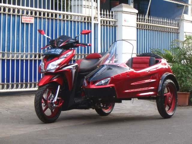Modifikasi Honda Vario Techno 125 PGM-FI CBS,