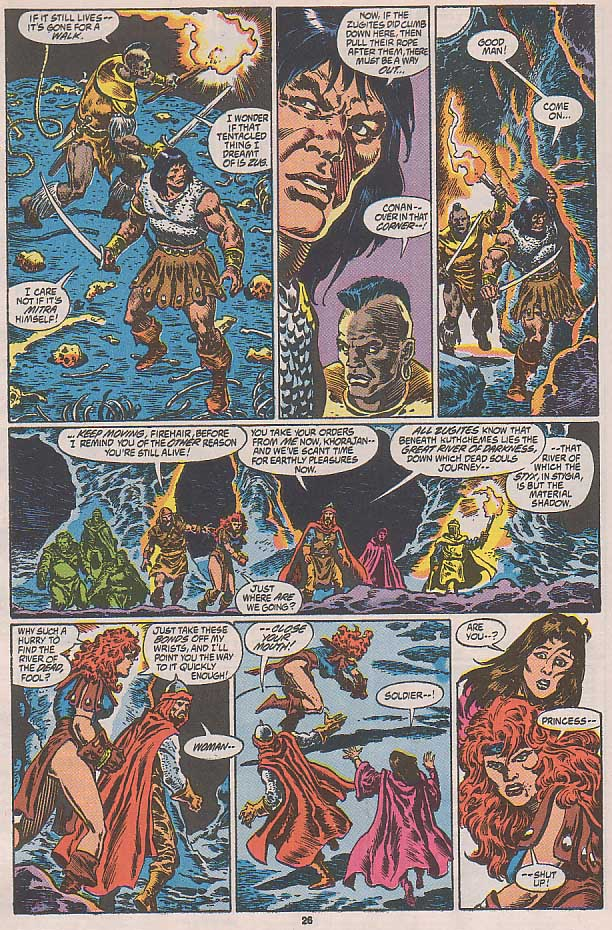 Conan the Barbarian (1970) Issue #250 #262 - English 21