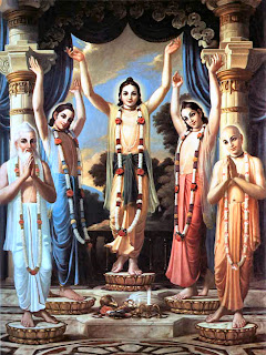 Chaitanya Mahaprabhu in Panch-tatva