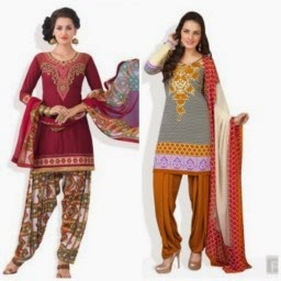 Jobong :Buy Women Designer Suits at Flat 80 % off at 634 : Buy to Earn