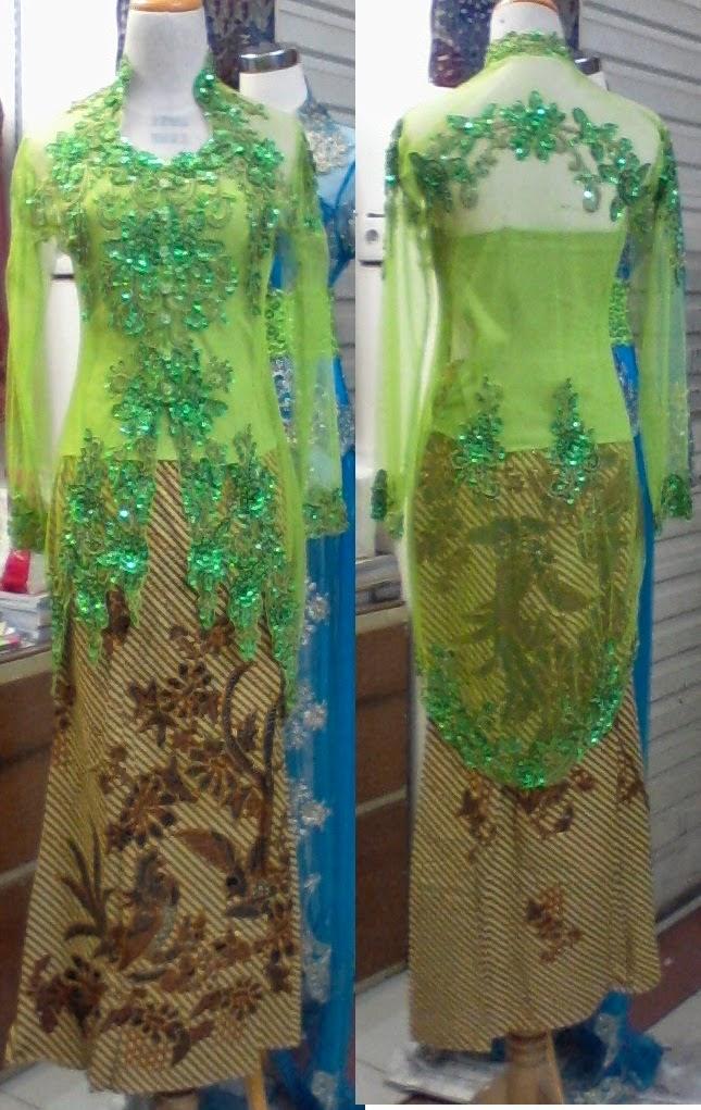 Foto Model Baju Kebaya Hijau Tosca