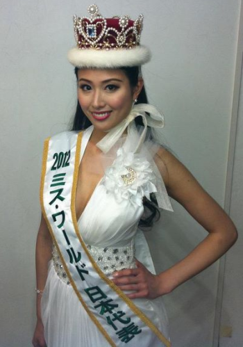 miss world japan 2012 winner nozomi igarashi