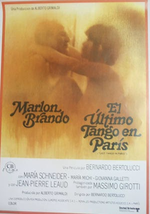Poster El Último Tango en París