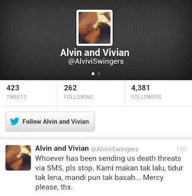 Bukti ugutan bunuh Alvin