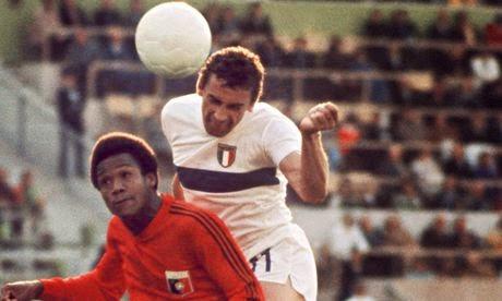 HAITI vs ITALIE 1974...