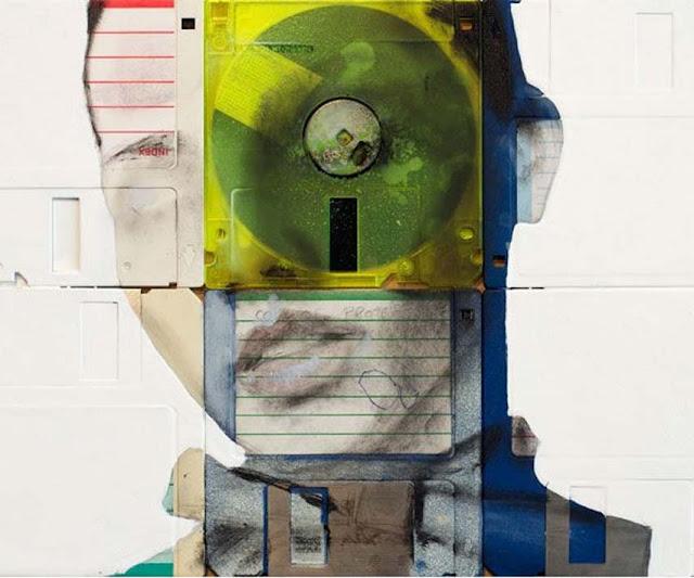 Green Pear Diaries - Nick Gentry pintura discos 2