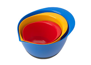 3 pc Mixing Bowl Set