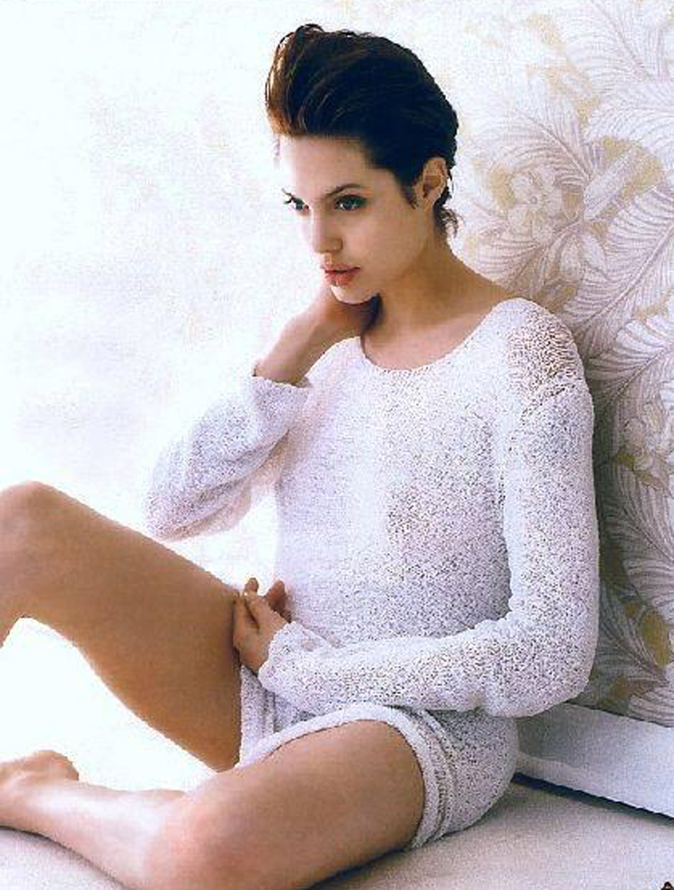 Fresh Look Angelina Jolie Short Hairstyles 10