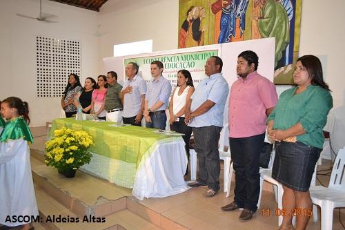 Prefeitura de Aldeias Altas promove Conferência da Educação e aprova plano decenal