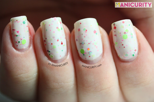 Manicurity | Polish Addict Nail Color = Summer Lovin'