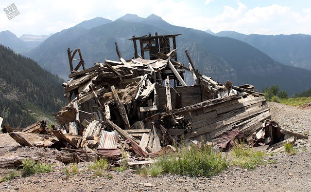 Abandoned mine near Telluride, CO