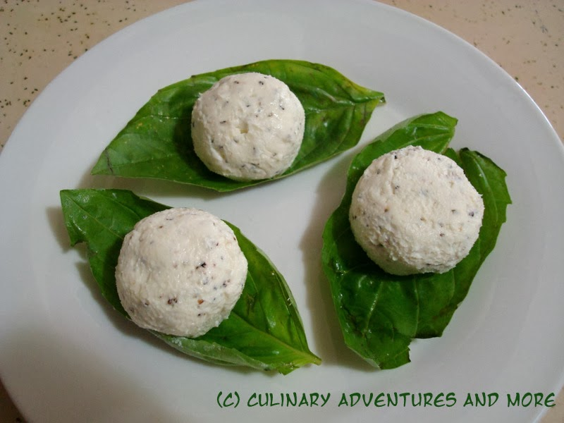 Cooking Adventure: The Hunger Games - Basil-Wrapped Goat Cheese