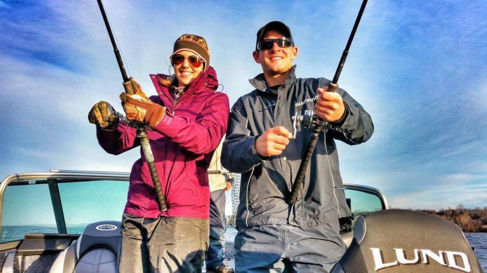Bay of Quinte Double Header Walleye