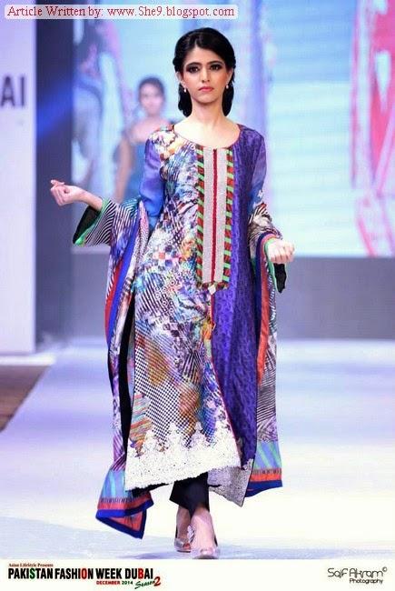 Lsm Lakhany Silk Mill At Pakistan Fashion Week Dubai 2014 Pfw Dubai She9 Change The Life Style