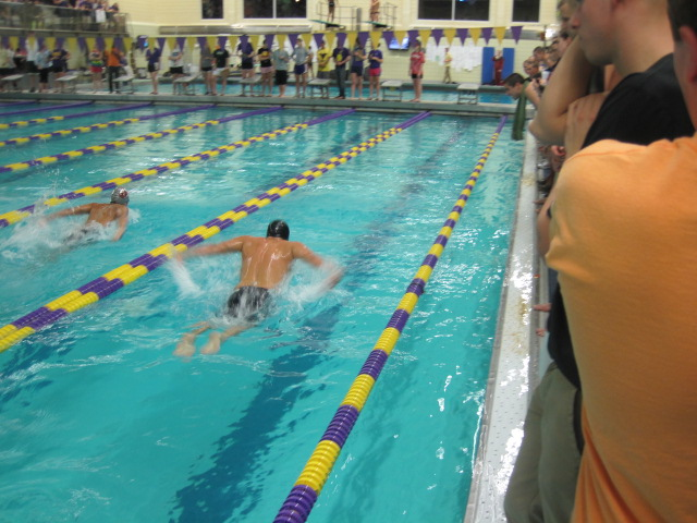 Trinity College Swimming Diving February 2012