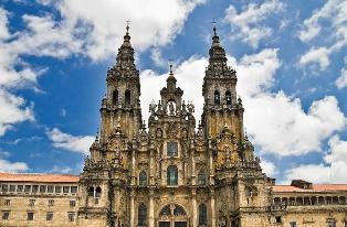 El destino del pelegrino la Catedral del Santiago