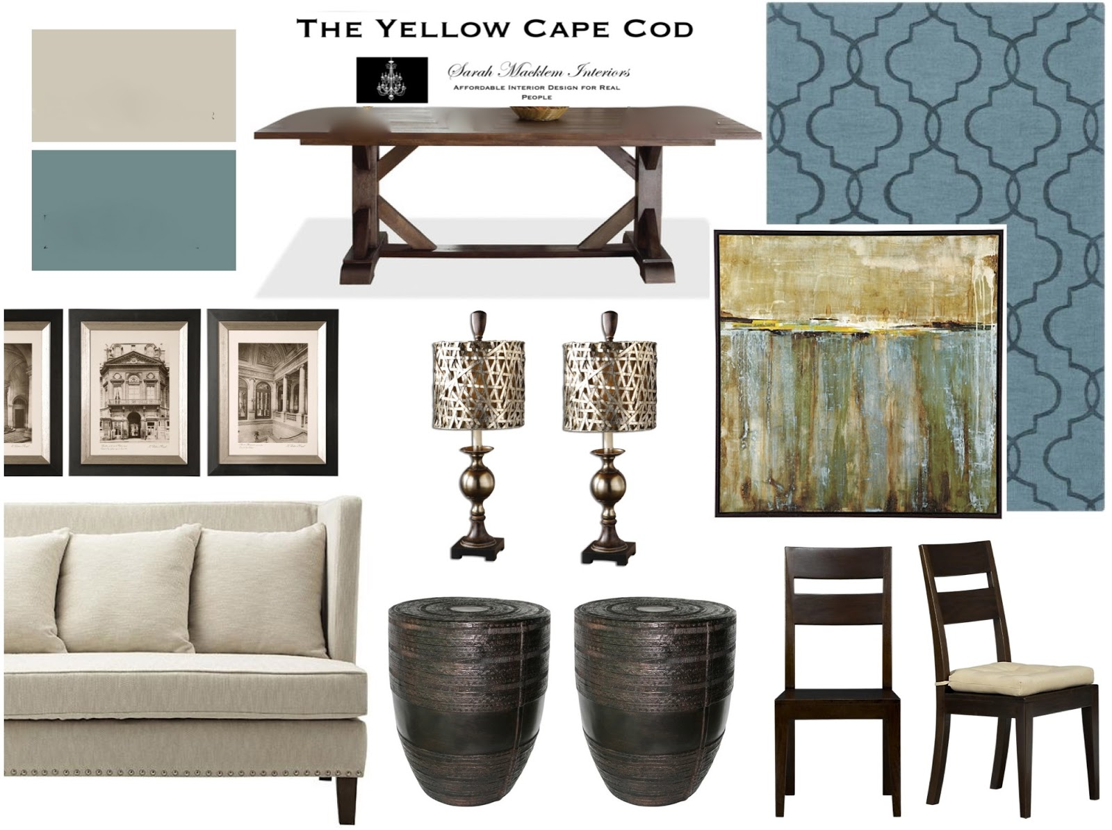 The Yellow Cape Cod: \