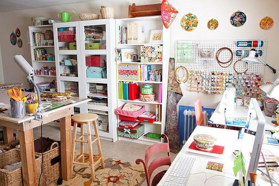 Cuarto de manualidades - Manualidades para decorar habitacion ...
