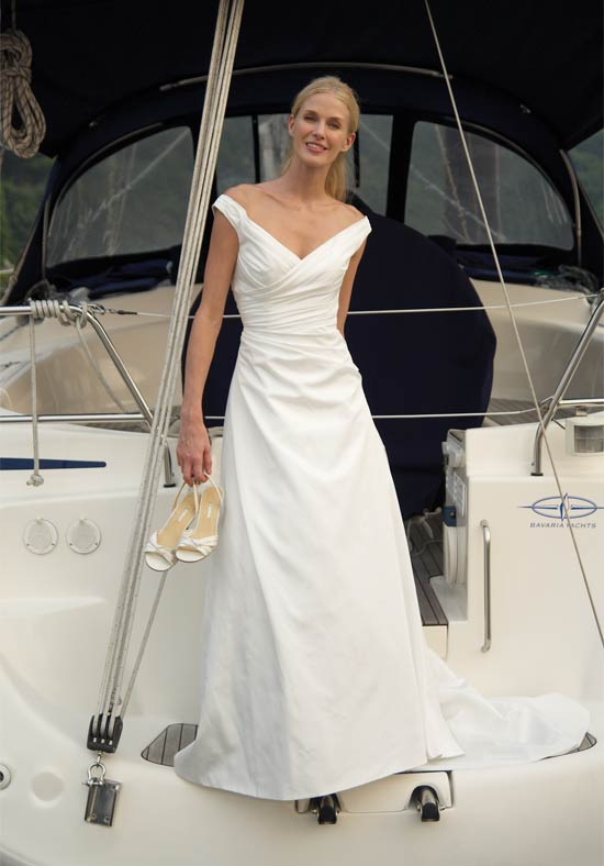 Ship cruise wedding bridal gown 2012 bridal and wedding prom for Wedding dresses for cruise ship