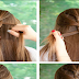 Sweeping Half French Braid Hairstyle Tutorial
