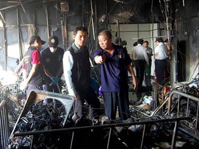 12 maut, hospital terbakar di Taiwan
