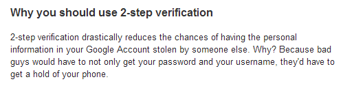 Why you should use 2 step verification