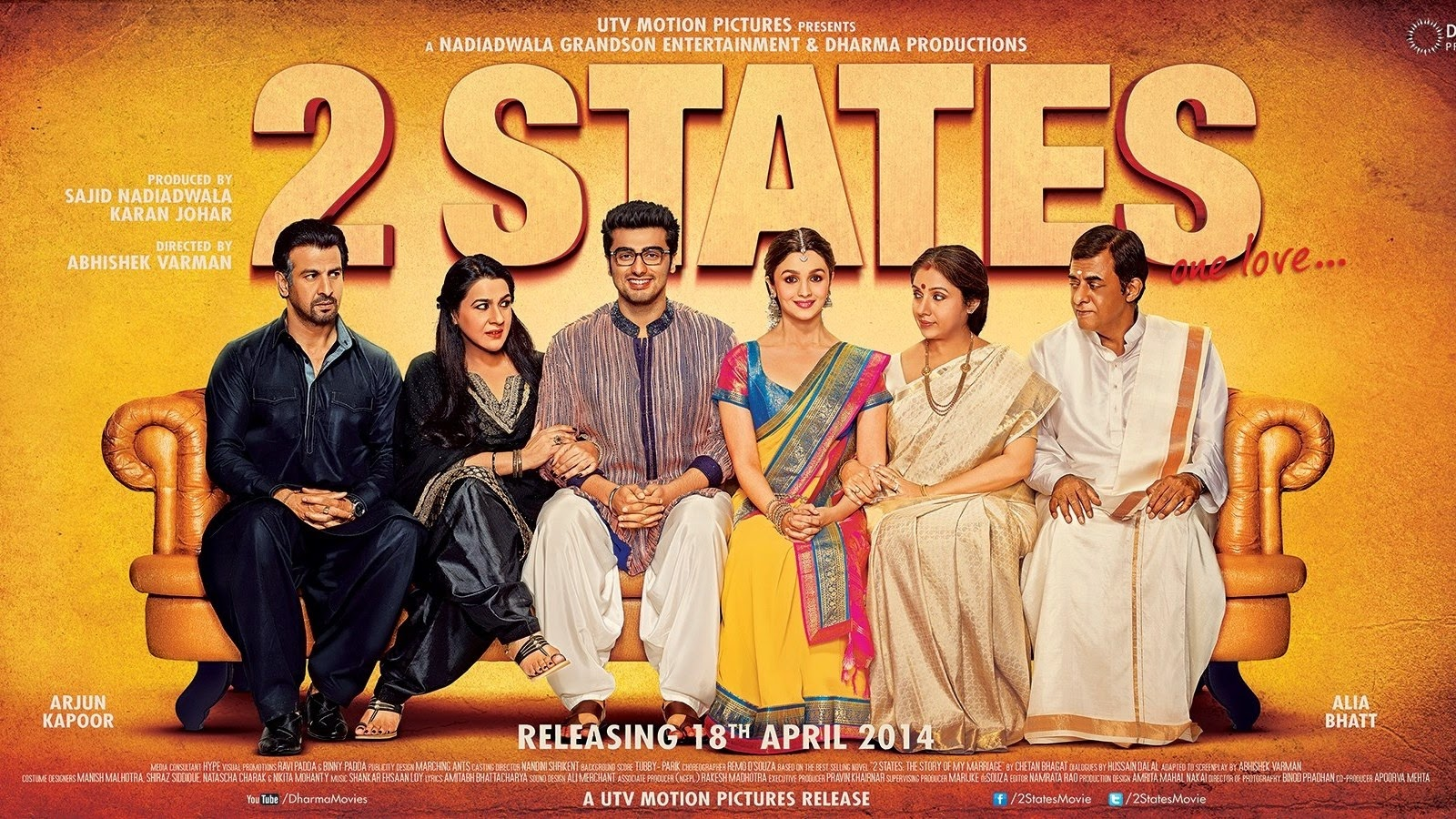 2 States 2014 Full Movie Watch Online DVD