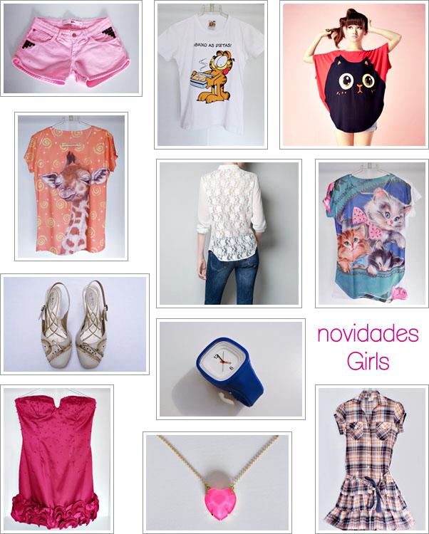 Novidades da Semana Girls Enjoei Produtos Femininos Bazar Online