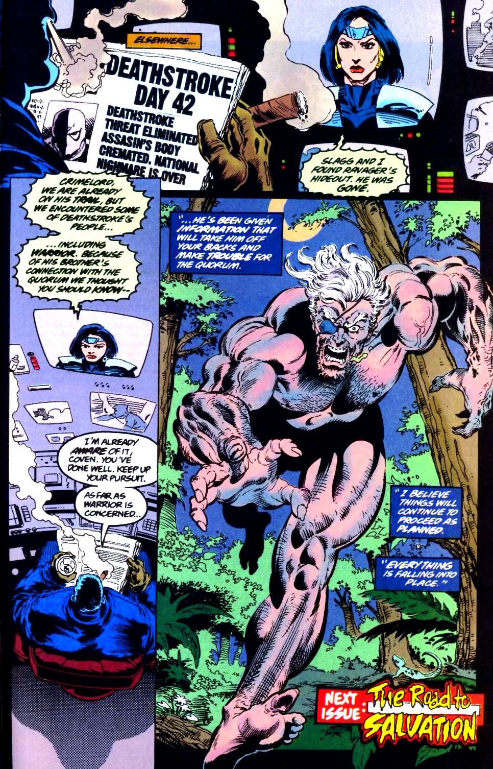 Deathstroke (1991) Issue #44 #49 - English 24