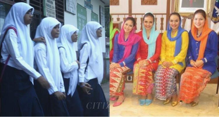 Hari Jum'at, Pemprov Jakarta Paksa Siswi Ganti Baju Muslimah Syar'i dengan Baju Betawi