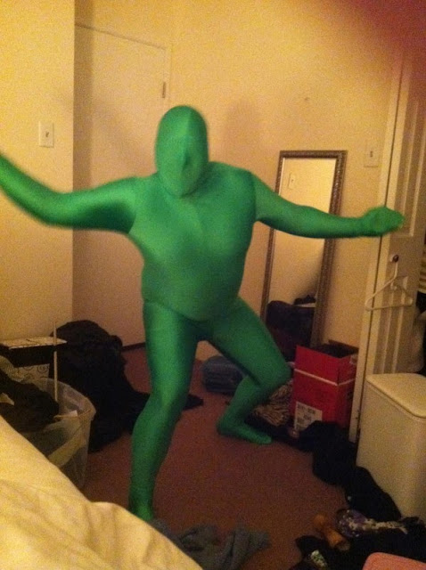 Fat Greenman Costume