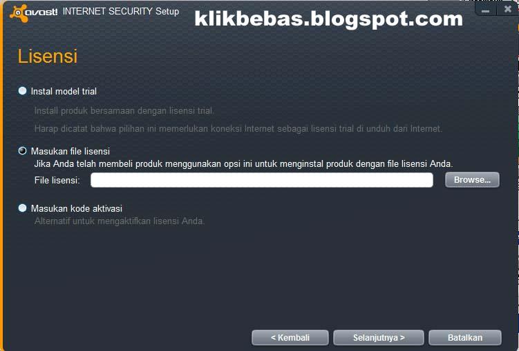 Avast 2012 Full Version ~ Aan Kunaifi