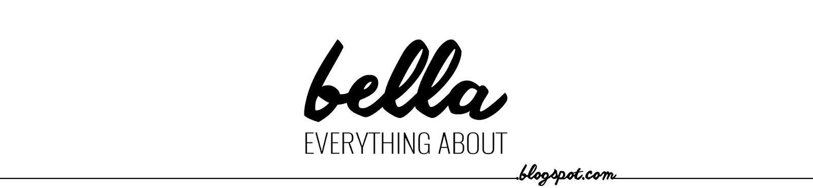Everything About Bella - Indonesian Beauty Blogger