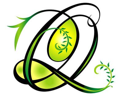 Letter Q tattoos...Q Letter Design