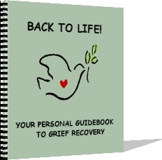 Back to life a personal Grief Guide book