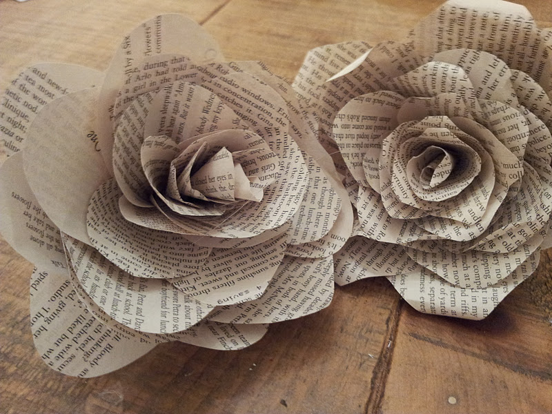 Book Page Roses Tutorial Twigg Studios