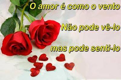 O amor é como o vento...