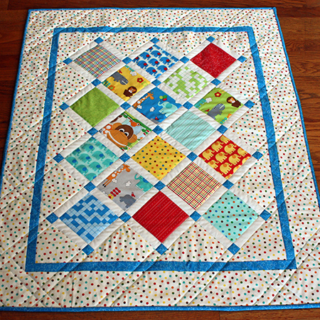Charm Baby Quilt