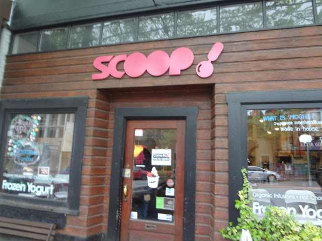 scoop frozen yogurt in vancouver