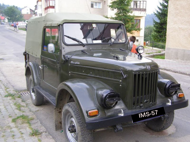 Romanian Car ARO IMS-57 unit