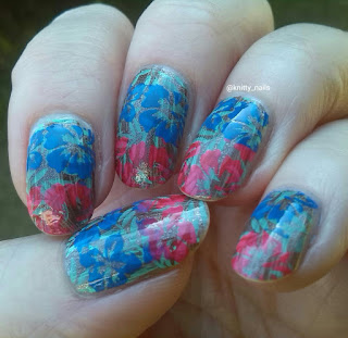 Moyou London Tropical 03 and Virtuous Polishes Patience and Holy City