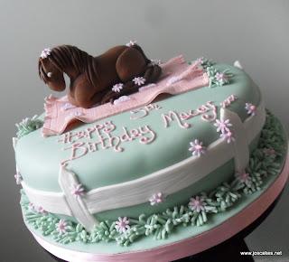 Jos Cakes: Horse/Pony Themed Birthday Cake