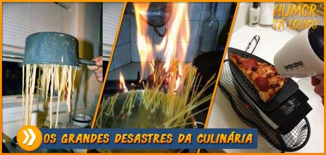 Os grandes desastres da culinária