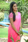 Samskruthi photo shoot in saree-thumbnail-9
